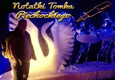 lodowe rzeźby Amsterdam