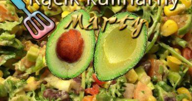 sałatka z avocado