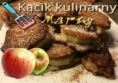 jabłka w kokosowej panierce