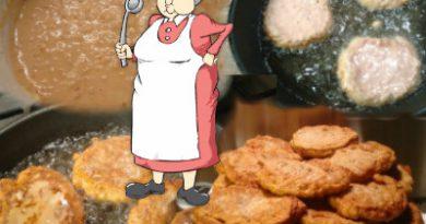 babcine placki z mięsem