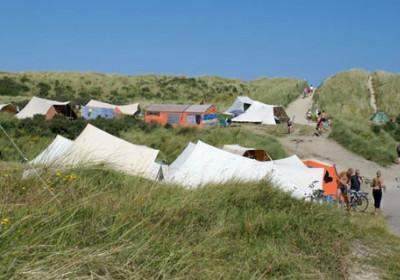 namioty w Holandii