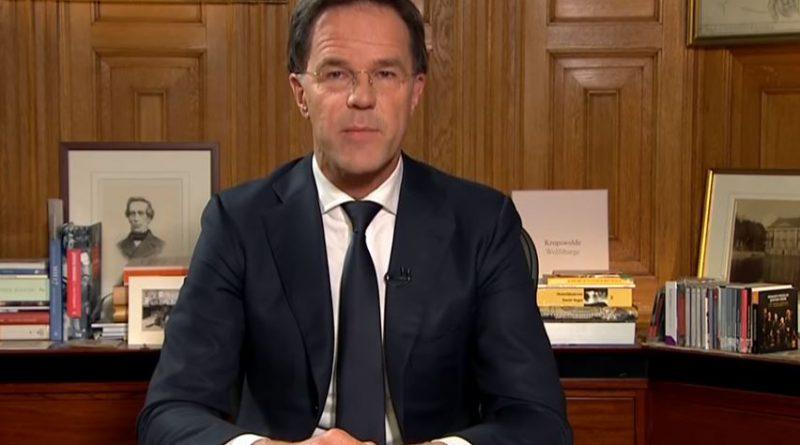 premier Rutte Holandia koronawirus 2020