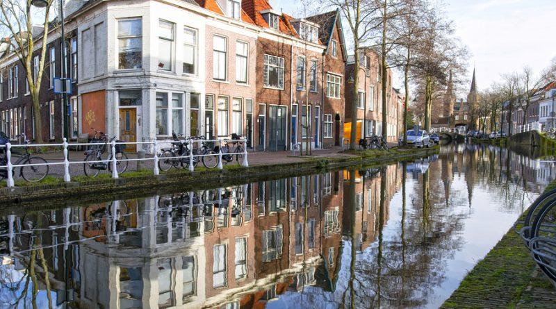 Holandia Delft koronawirus