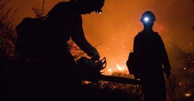 Pożar Holandia Limburgia 2020