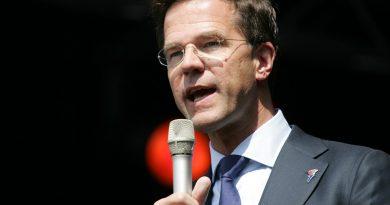 Holandia Rutte premier 2020 kwiecień