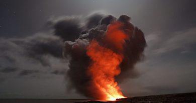 wulkan Holandia 2020