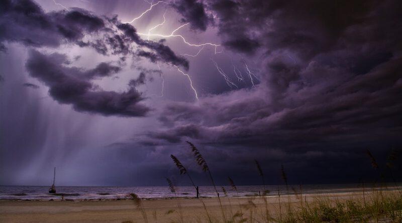 Holandia pogoda sierpień upał burza 2020