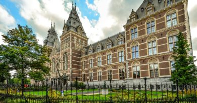 Holandia Amsterdam Rijksmuseum koronawirus 2020