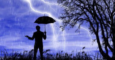 Holandia wichura sztorm 2020
