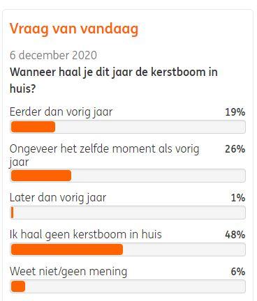 Holandia choinka święta 2020