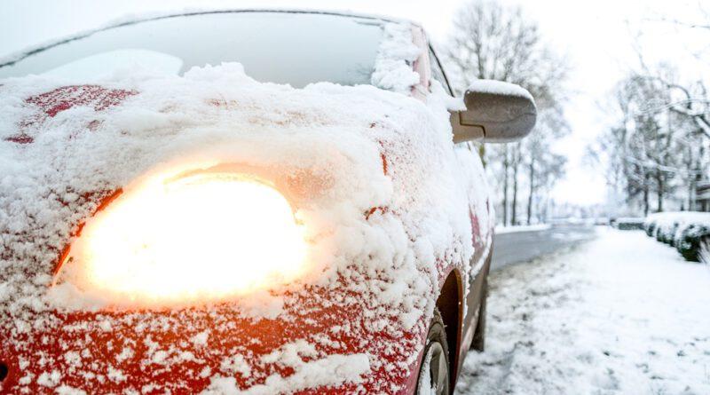 Holandia zima śnieg mandat grzywna kara zima 2021 luty