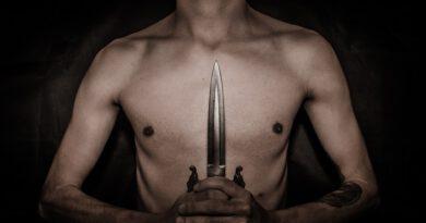 Holandia Groningen Foxhol impreza nóż