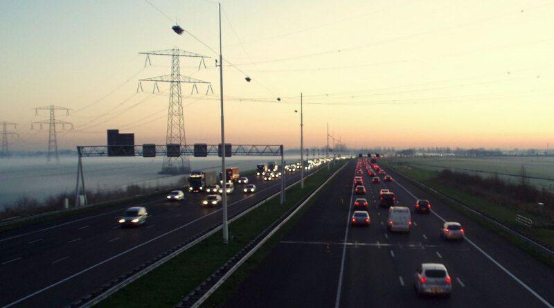 Holandia A12 remont korki